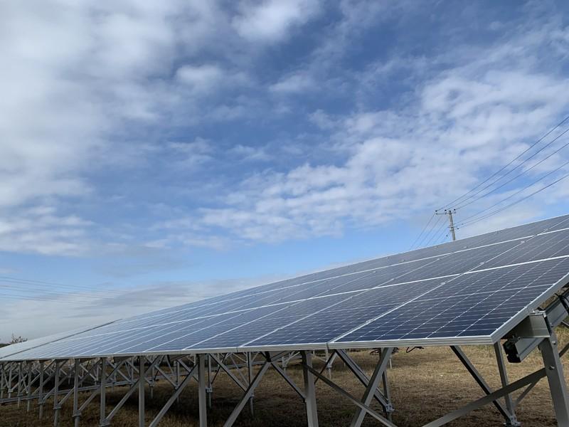 1.1mw Solar Mounting Project In Kamisu City, Ibaraki Prefecture ,Japan in December ,2019