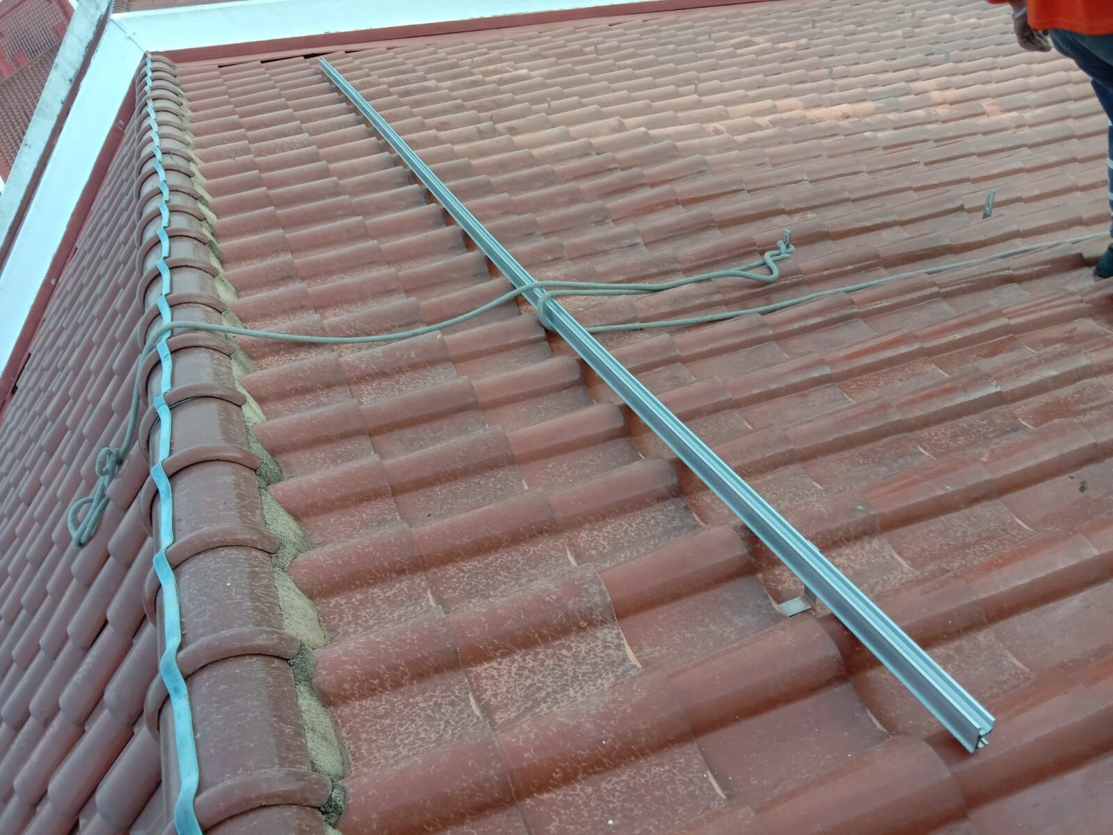 Tile Roof Solar Hook Installation In Singapore In August ,2020