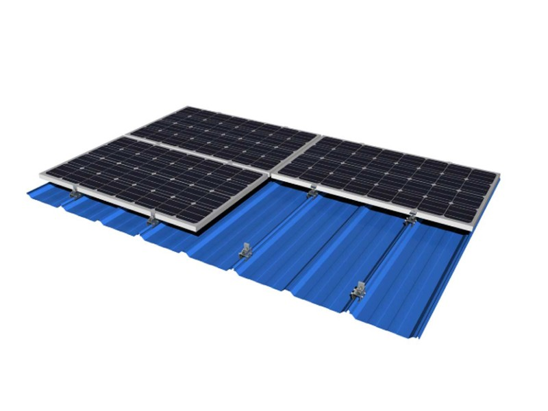 Tin Rooftop Solar Mounting Solution