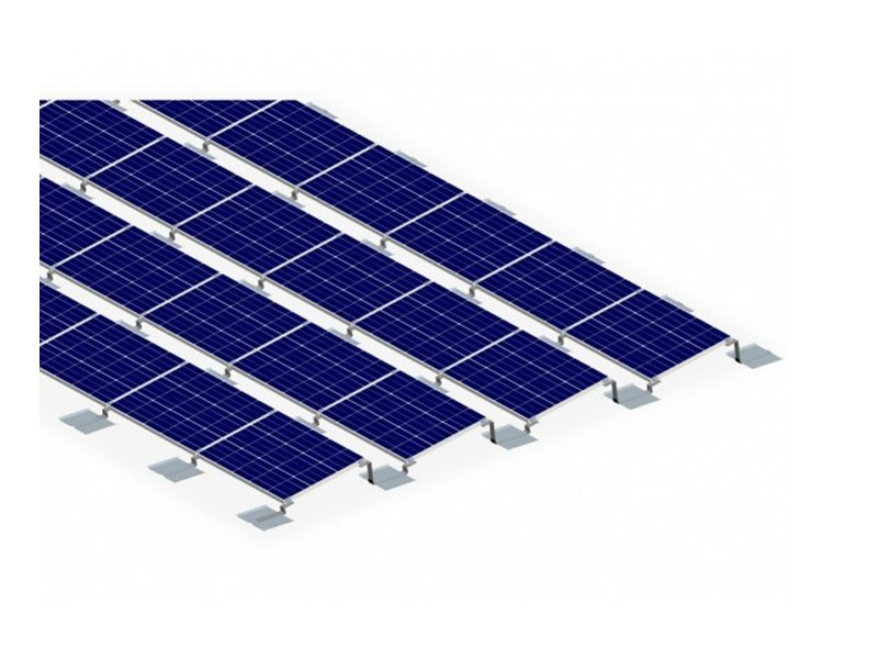 PV Rail-free Ballasted Roof Mount