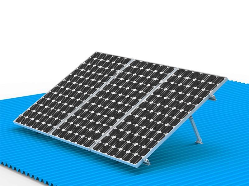 Adjustable Tilt Flat Roof Solar Mounting System