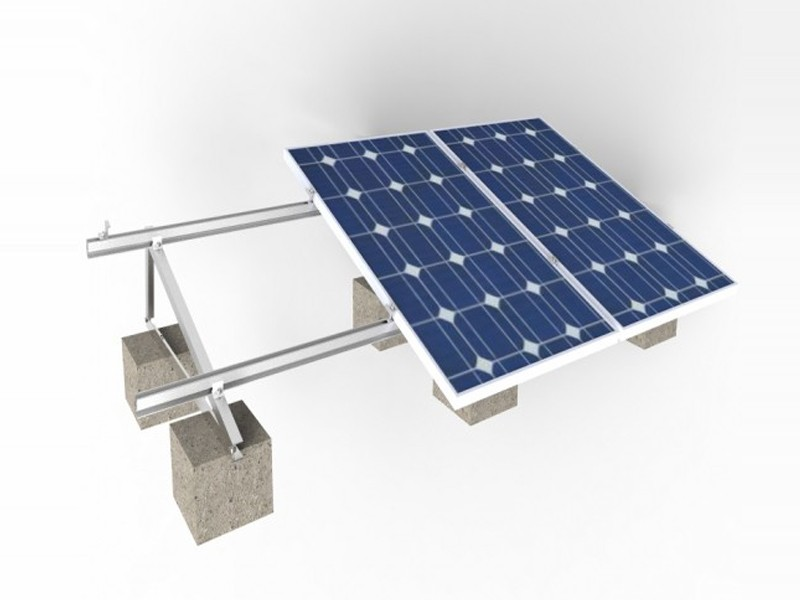 Cement Rooftop Solar Racks