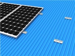 Rail-less Metal Solar Roof Mount