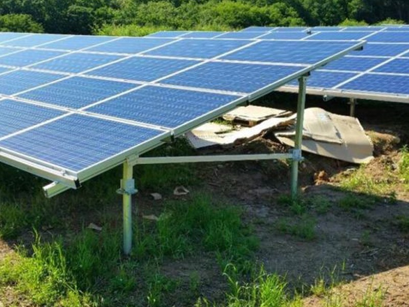 N Type Ground Solar Mounting System