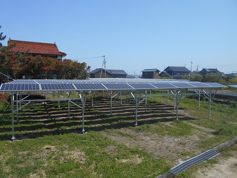 2020 solar farm racking structures