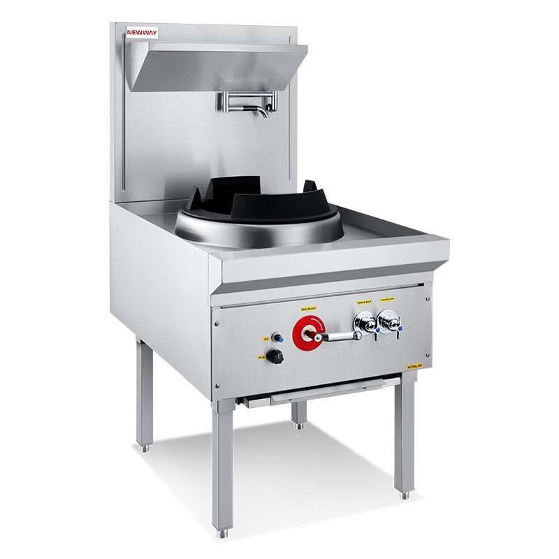 Compact Single Wok Range With Jet Burner