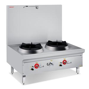 Compact Double Stock Pot Stove With Faucet