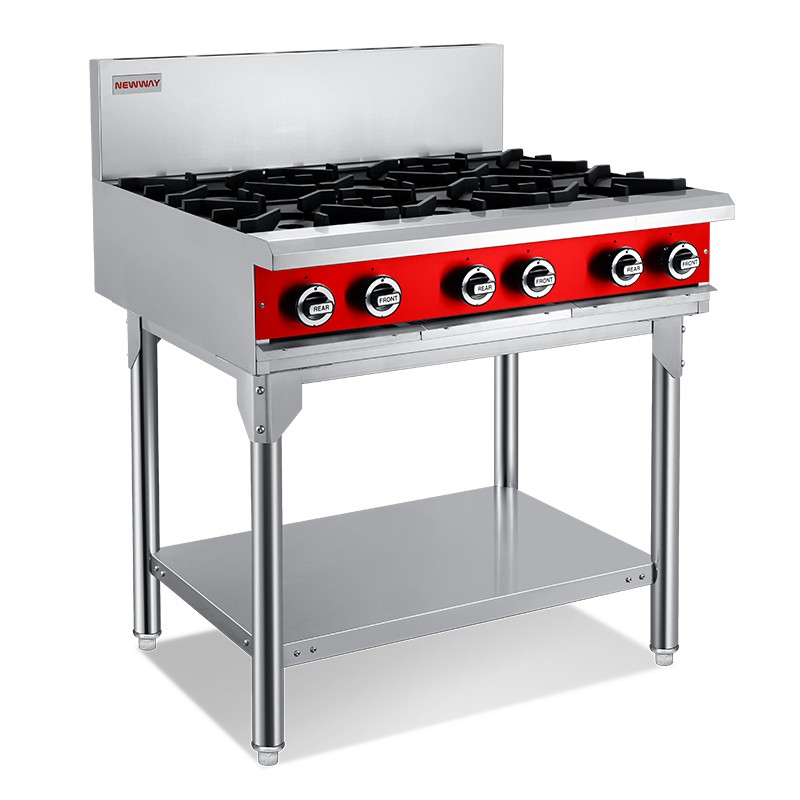 6 Burner Gas Cooktops