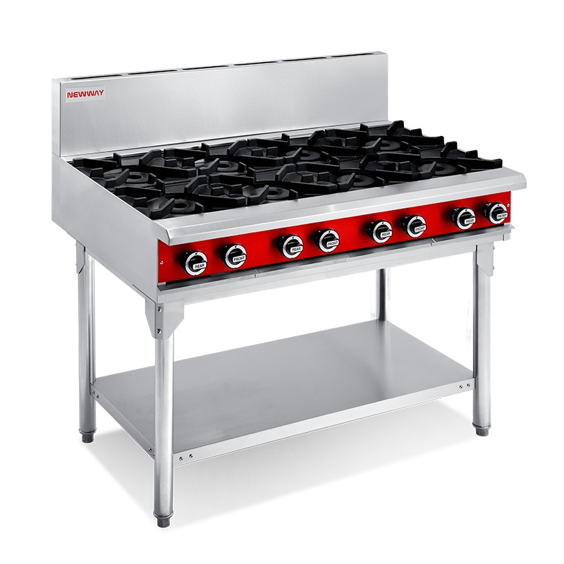8 Burner Gas Cooktops
