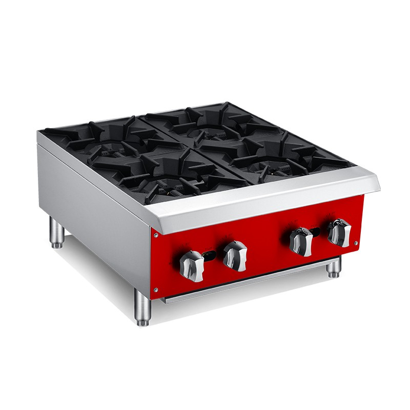 Countertop 4 Burner Gas Cooktops