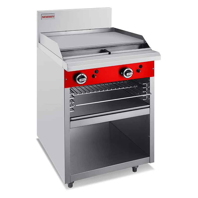 600mm Gas Commercial Griddle Toaster