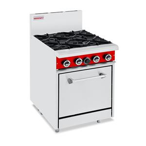 Commercial Gas 4 Burner Oven Ranges