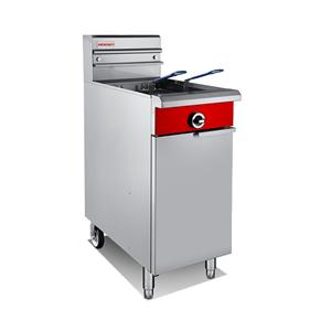 V Tank Single Gas Fryer