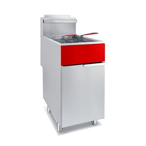 50 Lb. Gas 4 Tube Freestanding Fryer