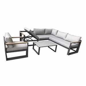Aluminium Outdoor Furniture Garden Sofa