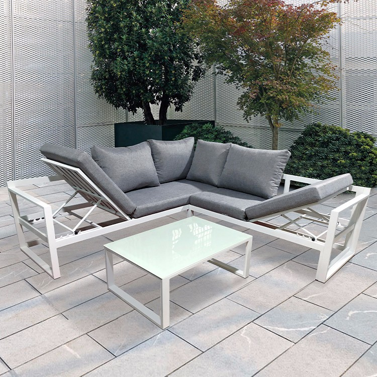 Aluminium Outdoor Furniture Garden Sofa Manufacturers, Aluminium Outdoor Furniture Garden Sofa Factory, Supply Aluminium Outdoor Furniture Garden Sofa
