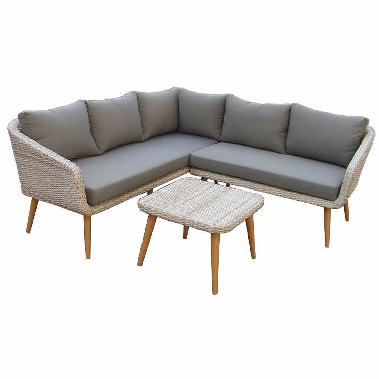 Садовый диван плетеная мебель