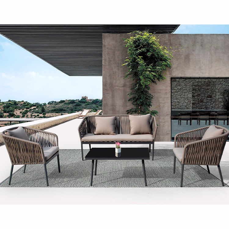 Outdoor Sofa Set Grey Rattan Garden Furniture Manufacturers, Outdoor Sofa Set Grey Rattan Garden Furniture Factory, Supply Outdoor Sofa Set Grey Rattan Garden Furniture