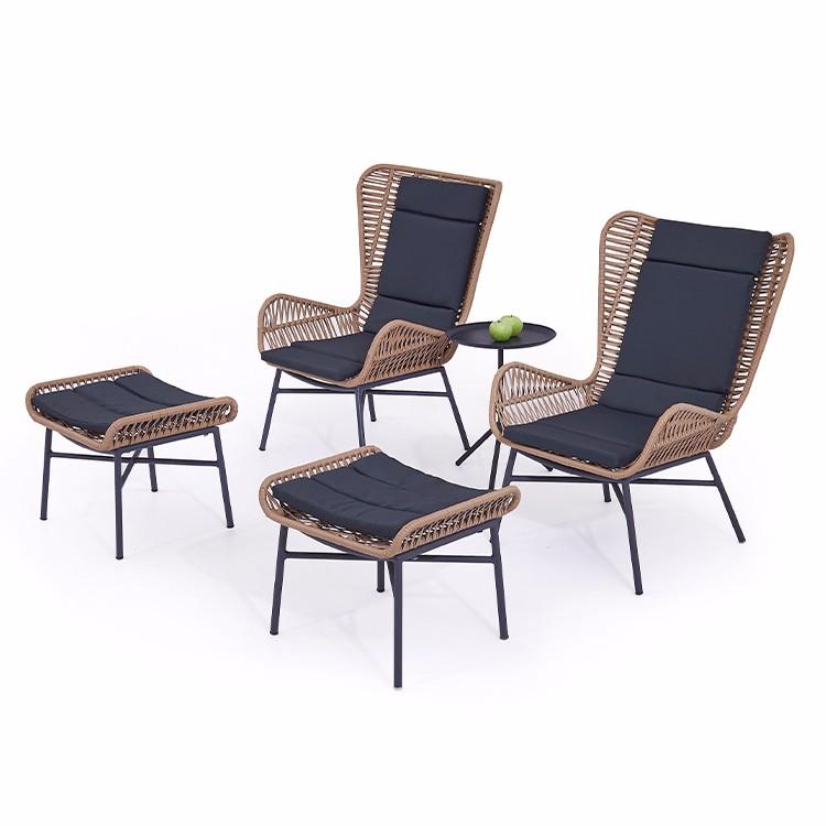 كرسي وطاولة الحديقة الترفيهية