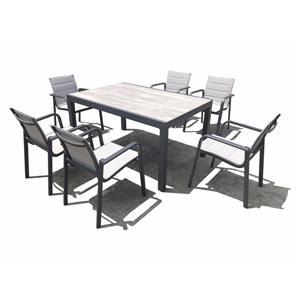 Outdoor Rattan Garden Dining Table Set