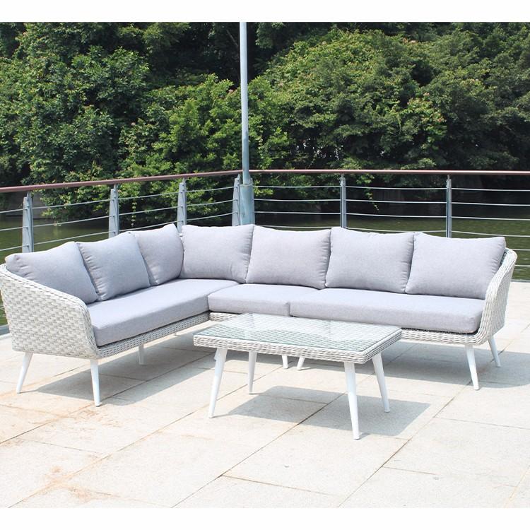 L Shape Rattan Patio Sofa Furniture Sale Manufacturers, L Shape Rattan Patio Sofa Furniture Sale Factory, Supply L Shape Rattan Patio Sofa Furniture Sale