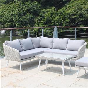 L Shape Rattan Patio Sofa Furniture Sale