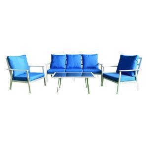 Outdoor Aluminium Rattan Sectional Sofa