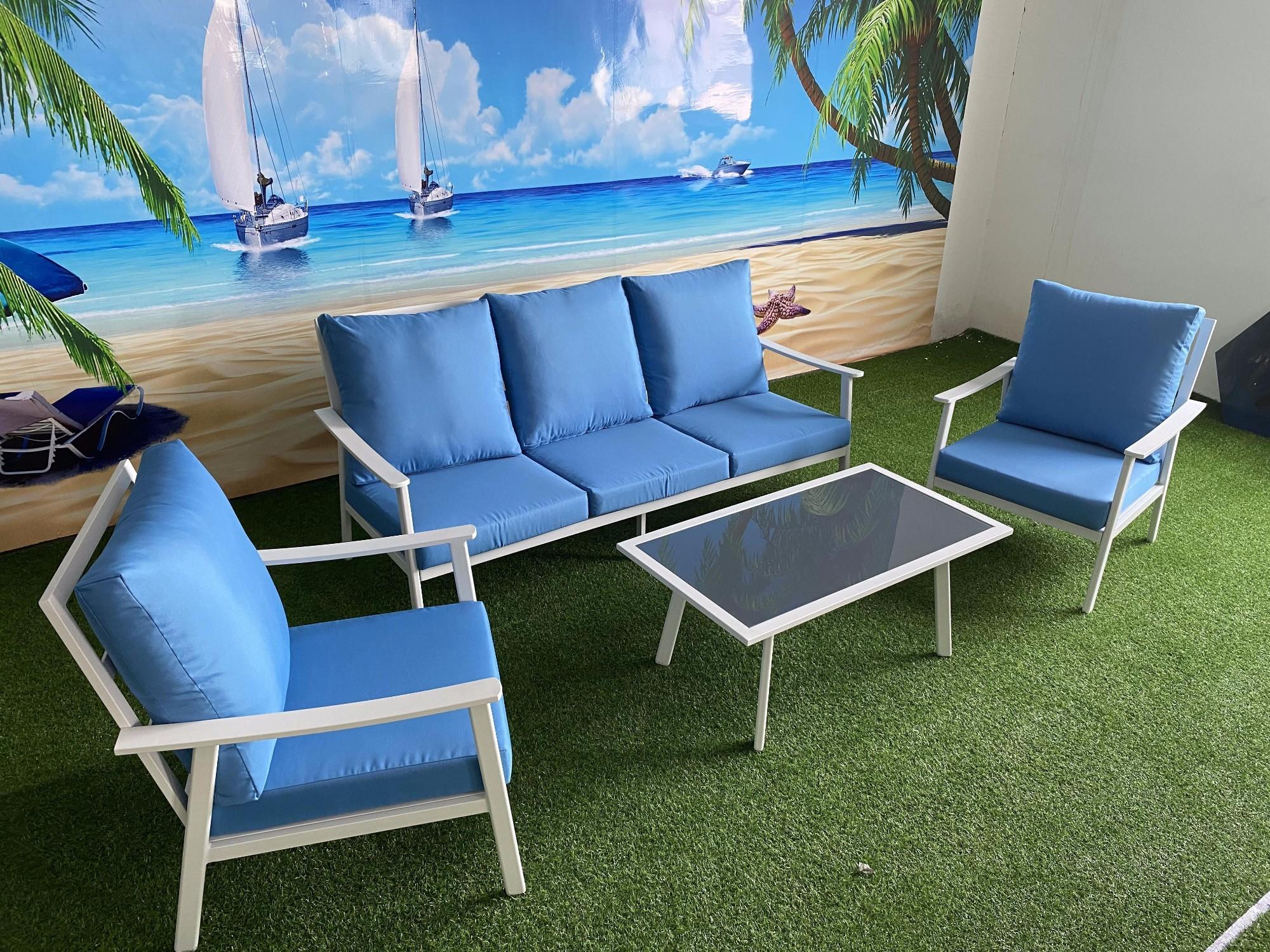 Outdoor Aluminium Garden Sofa Furniture Manufacturers, Outdoor Aluminium Garden Sofa Furniture Factory, Supply Outdoor Aluminium Garden Sofa Furniture
