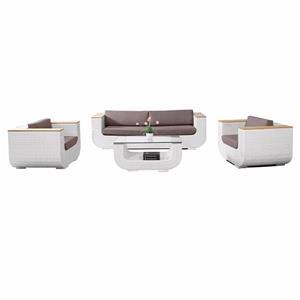 Outdoor Wicker Patio Furniture Garden Sofa