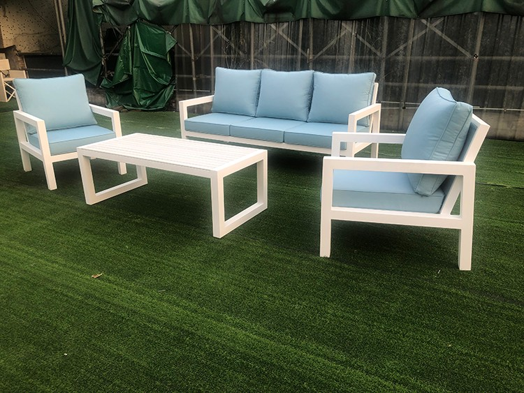 Outdoor Rope Sofa Set Aluminium Garden Sofa Manufacturers, Outdoor Rope Sofa Set Aluminium Garden Sofa Factory, Supply Outdoor Rope Sofa Set Aluminium Garden Sofa