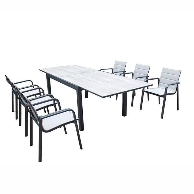 Outdoor Garden Patio Aluminum Dining Set