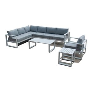 L Shaped Garden Furniture Outdoor Sofa