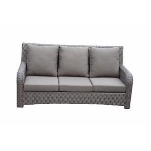 Aluminum Wicker Furniture Rattan Sofa Set