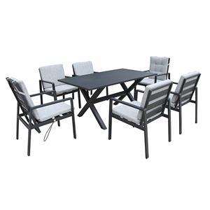 Outdoor Patio Aluminum Garden Dining Set