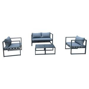 Outdoor Furniture 4pcs Garden Sofa Lounge