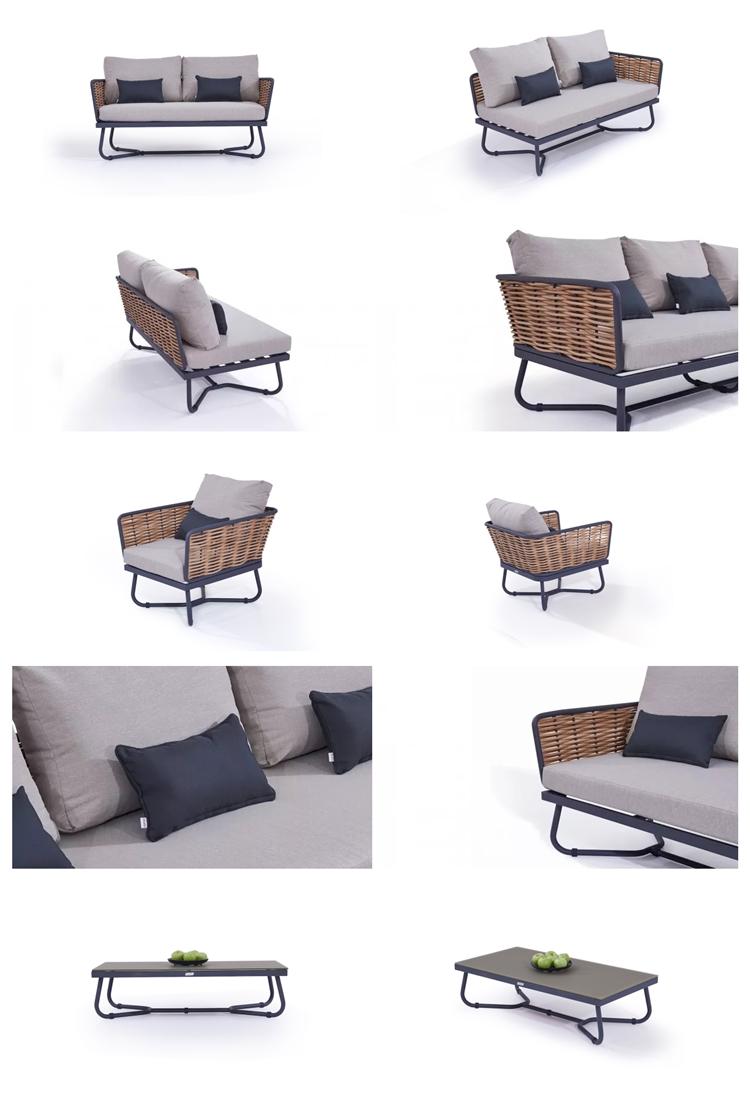 luxury outdoor furniture aluminium