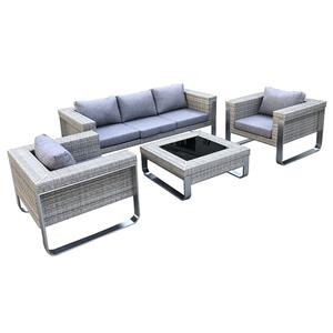 Outdoor Patio Couch Rattan Sofa Lounge