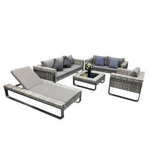 Rattan Outdoor Furniture Patio Garden Sofa