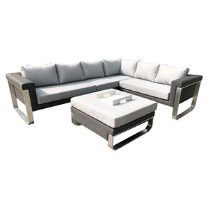 Outdoor Rope Furniture Patio Garden Sofa