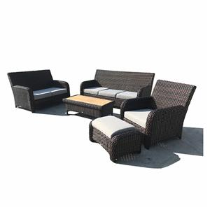 Outdoor Lounge Furniture Wicker Sofa Set