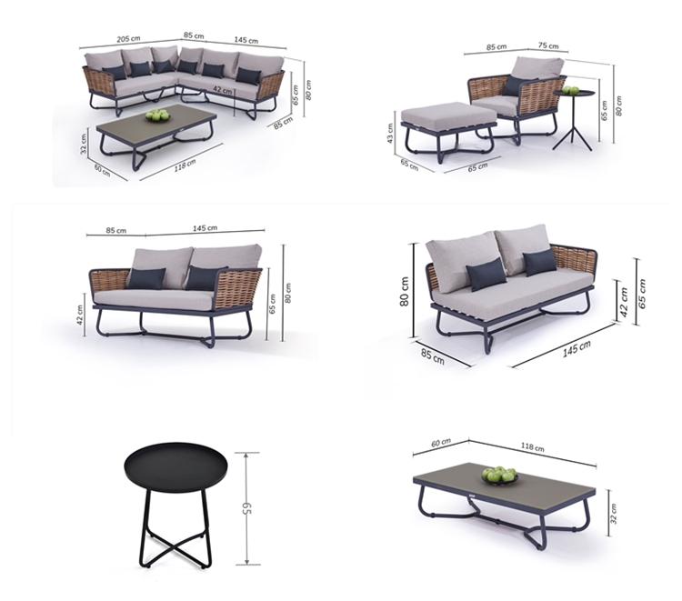 outdoor patio sofa