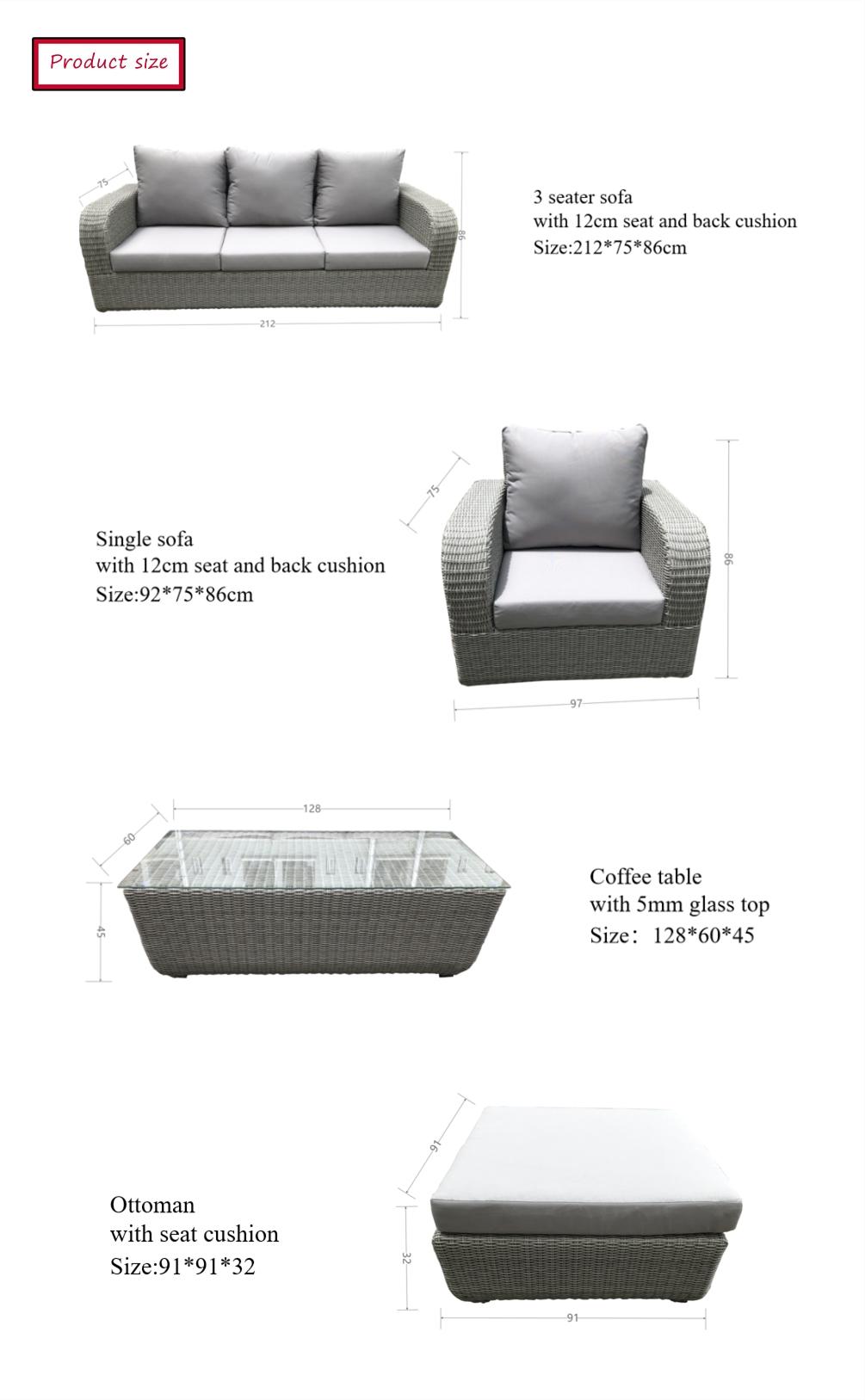 cheap garden sofa
