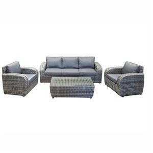 Rattan Outdoor Furniture Corner Sofa Set