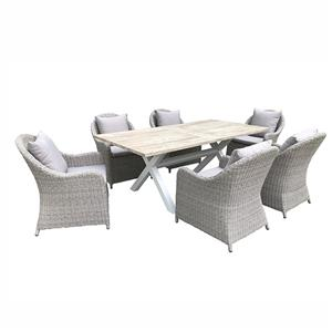 China Outdoor Furniture Rattan Sofa Lounge