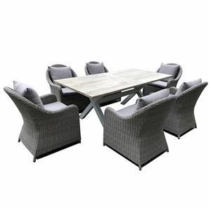 Designer Outdoor Furniture Rattan Lounge Set