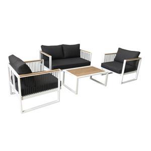 Wooden Garden Sofa Set Patio Furniture