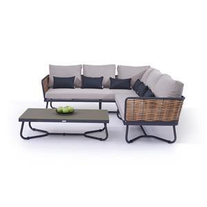 Outdoor Lawn Furniture Set Rattan Sofa