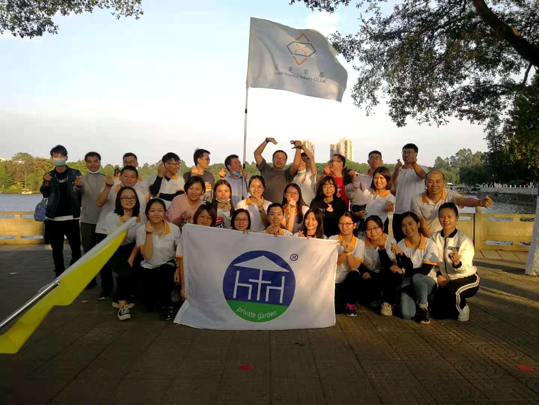 Our Teamworkat Dafushan Park in 2020
