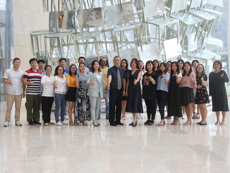 Group photo of company