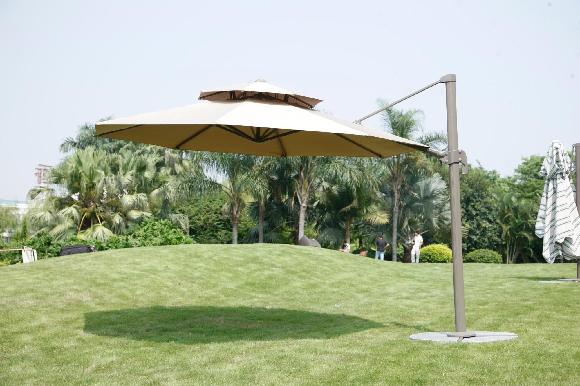 Outdoor Furniture Garden Double Canopy Umbrella Parasol Manufacturers, Outdoor Furniture Garden Double Canopy Umbrella Parasol Factory, Supply Outdoor Furniture Garden Double Canopy Umbrella Parasol